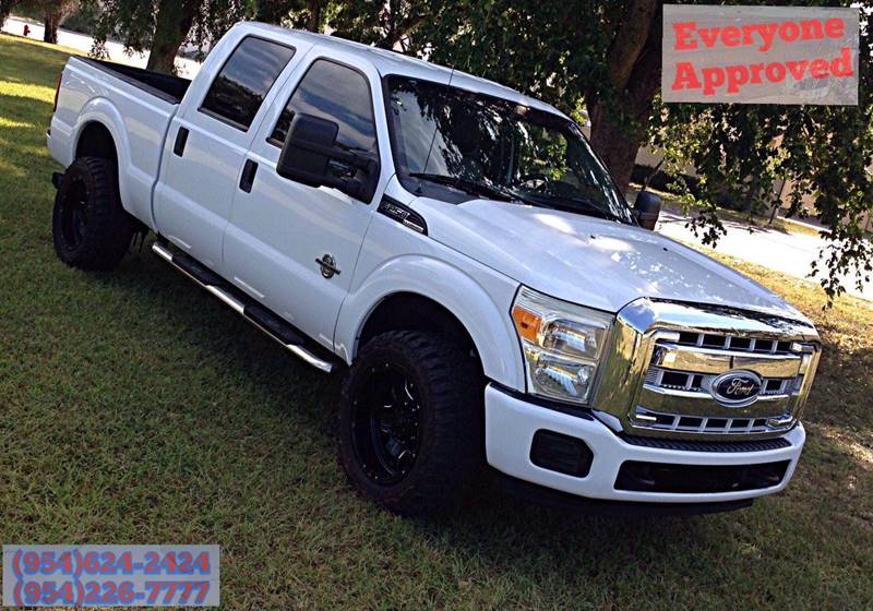2011 Ford F-250 Super Duty 4x2 XLT 4dr Crew Cab 8 ft. LB Pickup - Fort Lauderdale FL