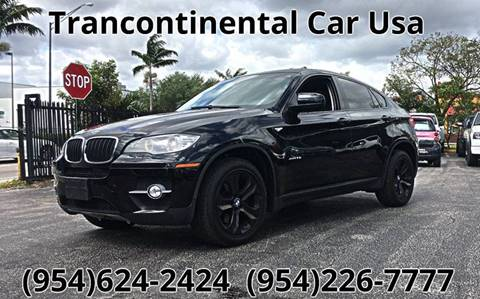 2010 BMW X6 for sale in Fort Lauderdale, FL