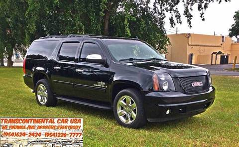 2009 GMC Yukon XL for sale at Transcontinental Car USA Corp in Fort Lauderdale FL