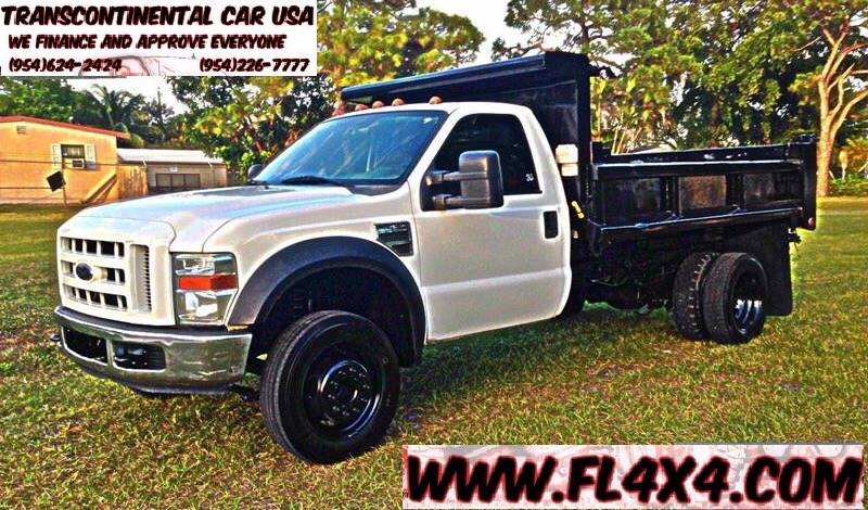 2008 Ford F-450 Super Duty for sale at Transcontinental Car USA Corp in Fort Lauderdale FL