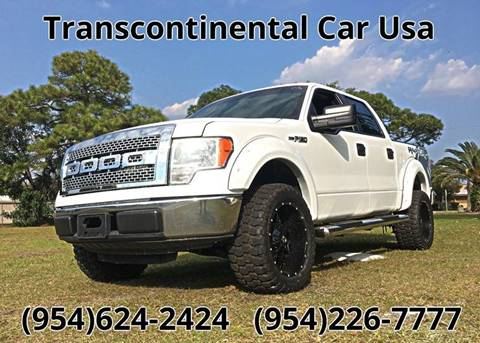 2010 Ford F-150 for sale at Transcontinental Car USA Corp in Fort Lauderdale FL