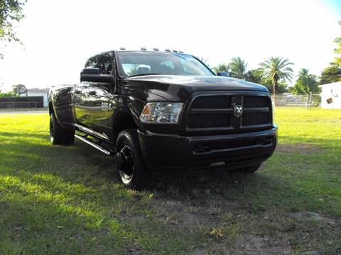 2013 RAM Ram Pickup 3500 for sale in Fort Lauderdale, FL