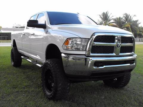 2014 RAM Ram Pickup 2500 for sale at Transcontinental Car USA Corp in Fort Lauderdale FL