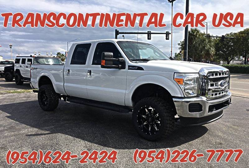 2011 Ford F-250 Super Duty for sale at Transcontinental Car USA Corp in Fort Lauderdale FL