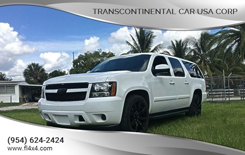 2008 Chevrolet Suburban for sale at Transcontinental Car USA Corp in Fort Lauderdale FL
