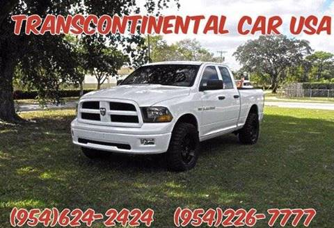 2011 RAM Ram Pickup 1500 for sale in Fort Lauderdale, FL
