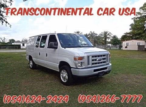 2014 Ford E-Series Cargo for sale in Fort Lauderdale, FL