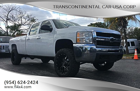 2009 Chevrolet Silverado 2500HD for sale at Transcontinental Car USA Corp in Fort Lauderdale FL