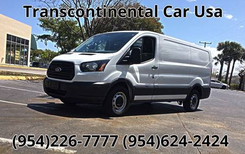 2015 Ford Transit Cargo for sale in Fort Lauderdale, FL