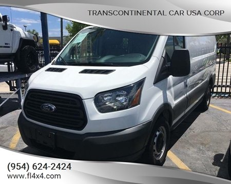 2015 Ford Transit Cargo for sale at Transcontinental Car USA Corp in Fort Lauderdale FL