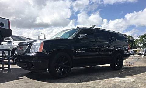 2008 GMC Yukon XL for sale at Transcontinental Car USA Corp in Fort Lauderdale FL
