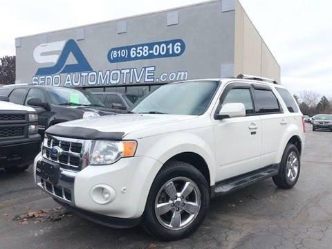2010 Ford Escape for sale in Davison, MI