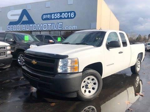 2012 Chevrolet Silverado 1500 for sale in Davison, MI
