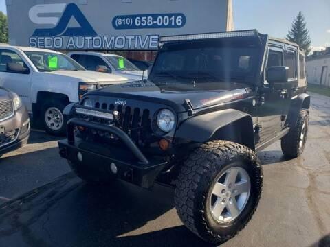 2012 Jeep Wrangler Unlimited for sale in Davison, MI