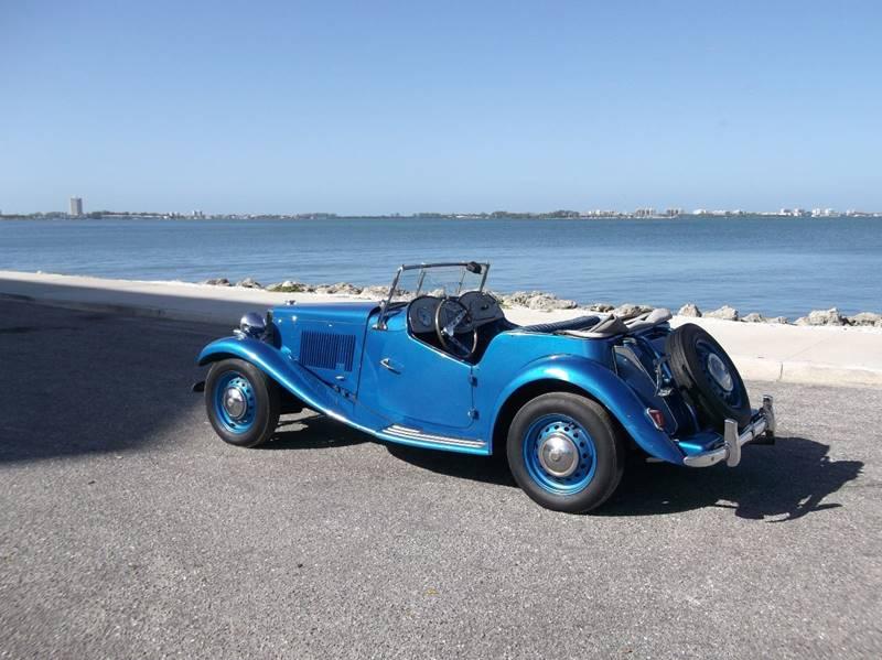 1952 MG TD for sale at Thoroughbred Motors in Sarasota FL