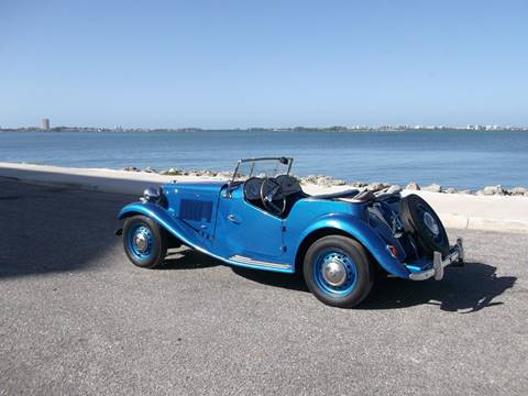 1952 MG TD for sale at Thoroughbred Motors in Sarasota FL