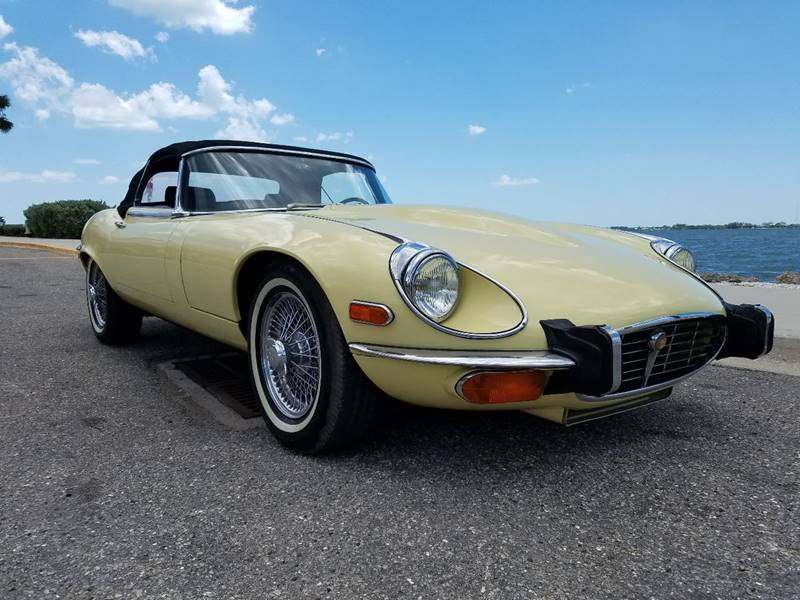 1973 Jaguar XK-Series for sale at Thoroughbred Motors in Sarasota FL