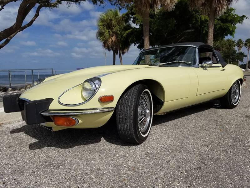 1974 Jaguar XK-Series for sale at Thoroughbred Motors in Sarasota FL