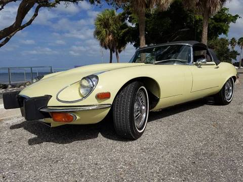 1974 Jaguar XK-Series for sale at Thoroughbred Motors in Sarasota FL