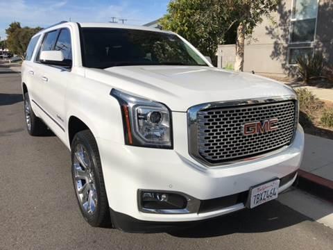 2015 GMC Yukon XL for sale at Elite Dealer Sales in Costa Mesa CA
