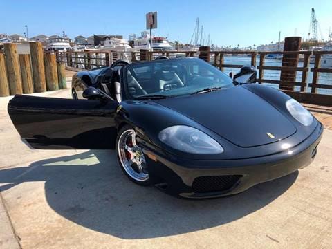 2003 Ferrari 360 Spider for sale at Elite Dealer Sales in Costa Mesa CA