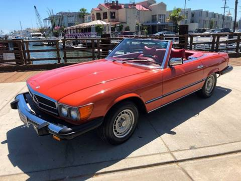 1979 Mercedes-Benz 450-Class for sale at Elite Dealer Sales in Costa Mesa CA