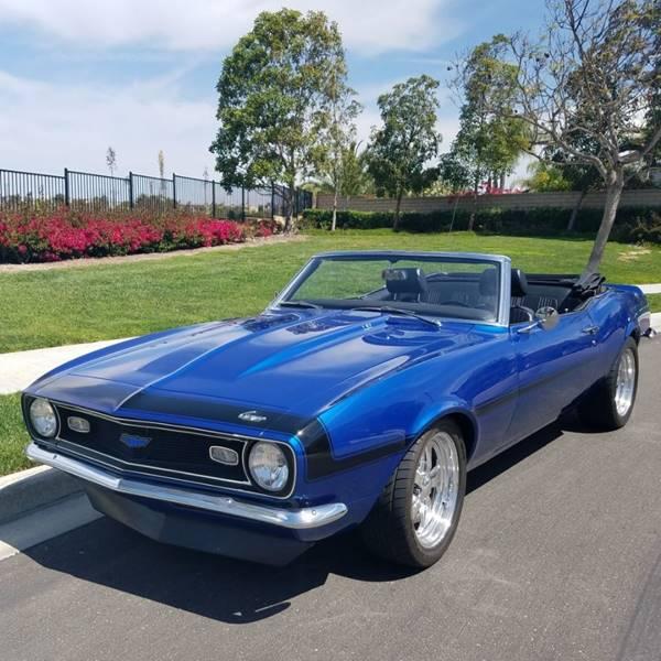 1968 Chevrolet Camaro for sale at Elite Dealer Sales in Costa Mesa CA