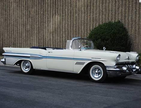 1957 Pontiac Bonneville for sale at Elite Dealer Sales in Costa Mesa CA