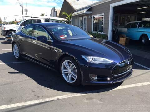 2014 Tesla Model S for sale at Elite Dealer Sales in Costa Mesa CA