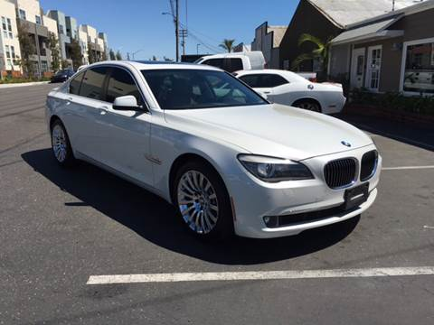 2012 BMW 7 Series for sale at Elite Dealer Sales in Costa Mesa CA