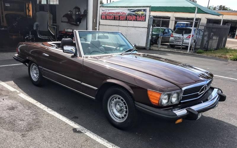 1985 Mercedes-Benz 380-Class for sale at Elite Dealer Sales in Costa Mesa CA