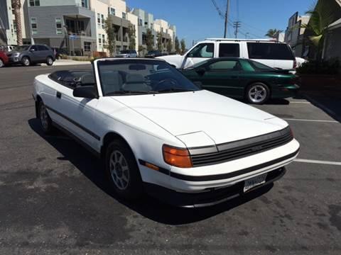 1989 Toyota Celica for sale at Elite Dealer Sales in Costa Mesa CA