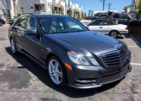 2012 Mercedes-Benz E-Class for sale at Elite Dealer Sales in Costa Mesa CA