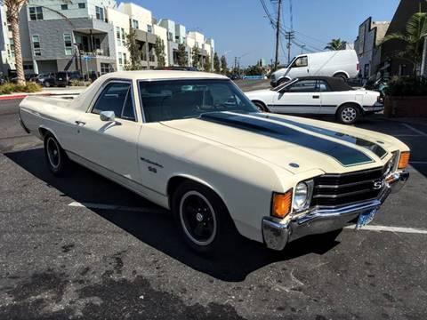 1972 Chevrolet El Camino for sale at Elite Dealer Sales in Costa Mesa CA
