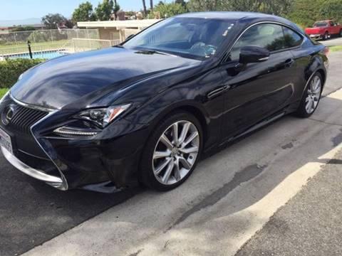 2015 Lexus RC 350 for sale at Elite Dealer Sales in Costa Mesa CA