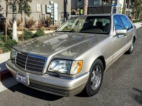 1997 Mercedes-Benz S-Class for sale at Elite Dealer Sales in Costa Mesa CA