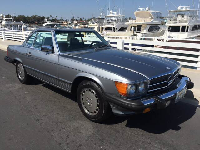 1987 Mercedes-Benz 560-Class for sale at Elite Dealer Sales in Costa Mesa CA