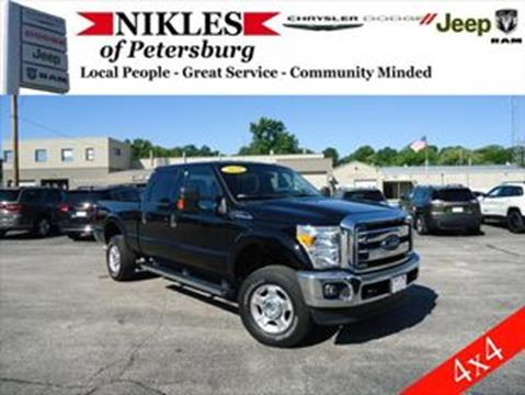 Used Ford 4x4 Trucks For Sale >> 2016 Ford F 250 Super Duty For Sale In Petersburg Il