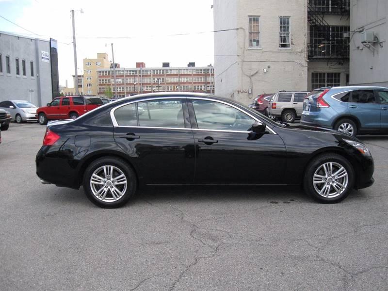 2012 Infiniti G37 Sedan for sale at Burhill Leasing Corp. in Dayton OH
