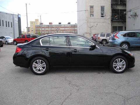 2012 Infiniti G37 Sedan for sale at Burhill Leasing Corp. in Dayton OH