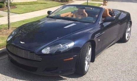 2008 Aston Martin DB9 for sale at Burhill Leasing Corp. in Dayton OH