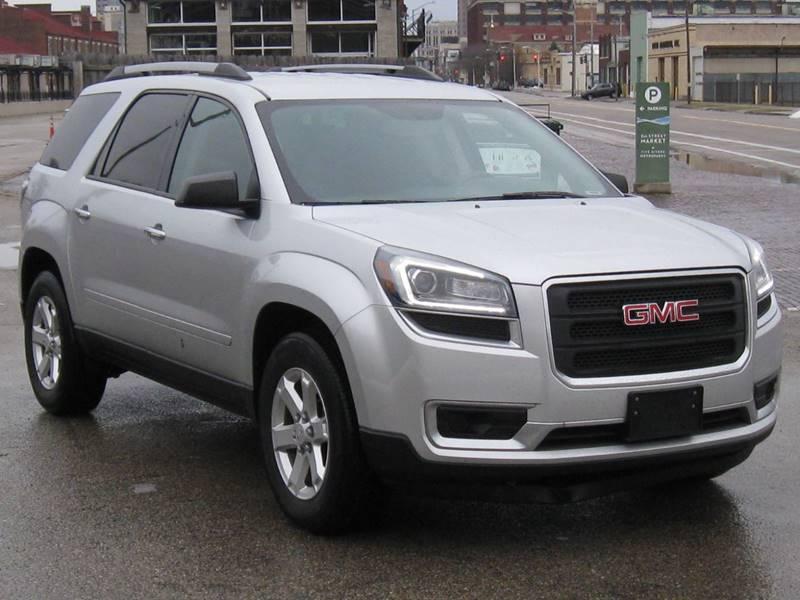2014 GMC Acadia for sale at Burhill Leasing Corp. in Dayton OH