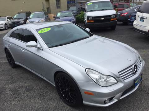 2008 Mercedes-Benz CLS for sale at White St. Motors in Haverhill MA