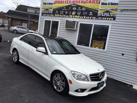 2009 Mercedes-Benz C-Class for sale at White St. Motors in Haverhill MA