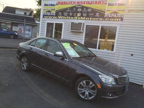 2008 Mercedes-Benz C-Class for sale at White St. Motors in Haverhill MA