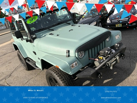 2001 Jeep Wrangler for sale in Haverhill, MA