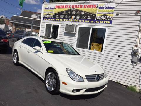 2007 Mercedes-Benz CLS for sale at White St. Motors in Haverhill MA
