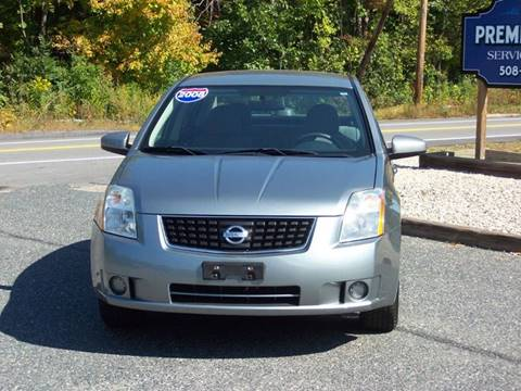 2008 Nissan Sentra 2.0 for sale at PREMIER AUTO SALES in Millbury MA