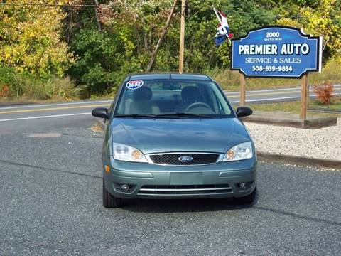 2005 Ford Focus ZX4 SES for sale at PREMIER AUTO SALES in Millbury MA