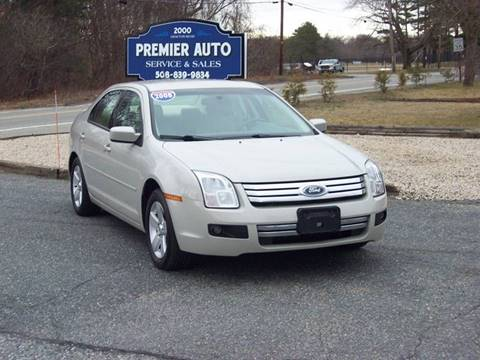 2008 Ford Fusion for sale at PREMIER AUTO SALES in Millbury MA